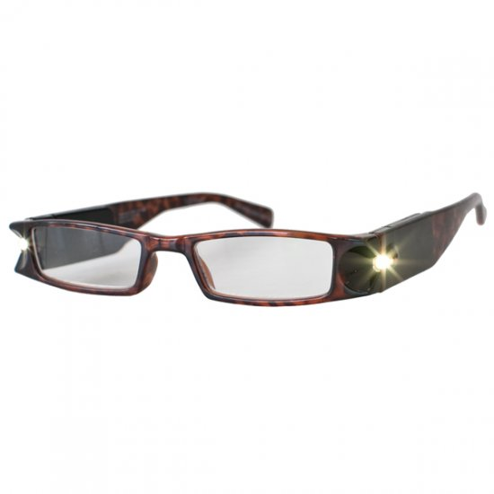 0a96b37ef52 +1.5 Diopter Eschenbach LightSpecs LED Lighted Reading Glasses - Tortise -  Lindy