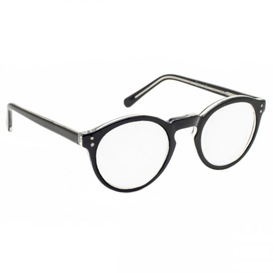 3 5x 14 diopter magnifying reading glasses black