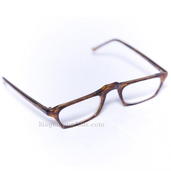 6709e421ffb +2 Diopter Reading Glasses Tortoise Frame