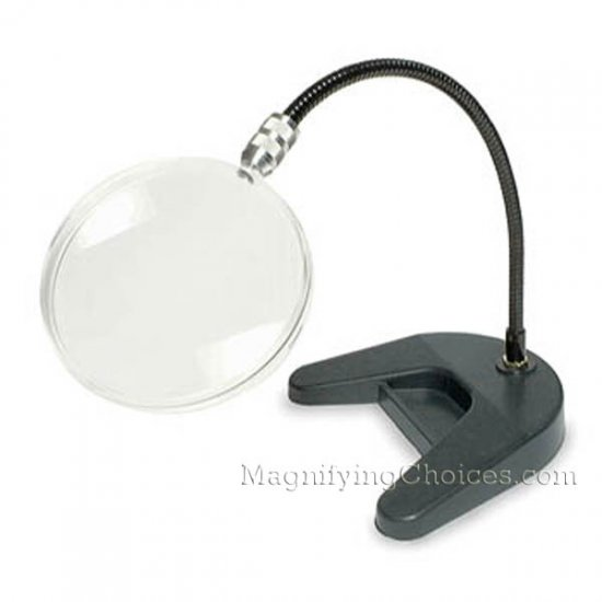 2X Donegan Flex-A-Mag Stand Magnifier - Click Image to Close