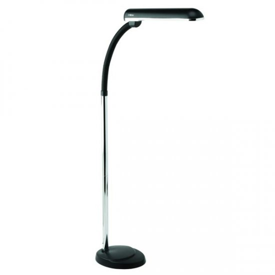Ott light floor lamp with magnifier floor matttroy for Ottlite 3 in 1 craft floor lamp