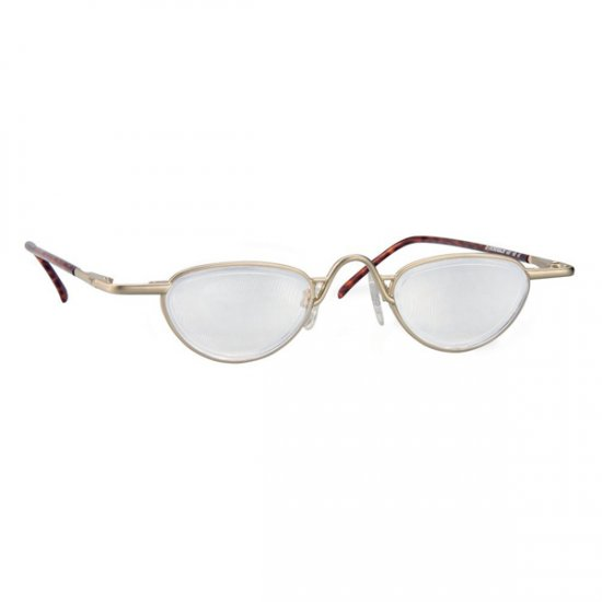 d691dab00c1f +6.00 Diopter Eschenbach Noves Bino System Gold Frame Spectacle Magnifiers
