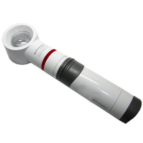 a23beea3cdaa 12.5X / 50D Eschenbach Incandescent Lighted Hand Held,Stand Magnifier - 1.5  Inch Lens